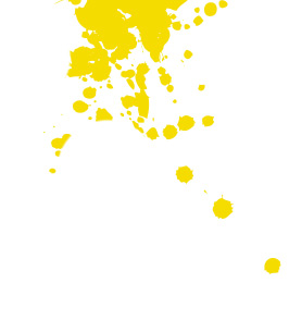 Yellow Paint Splotch